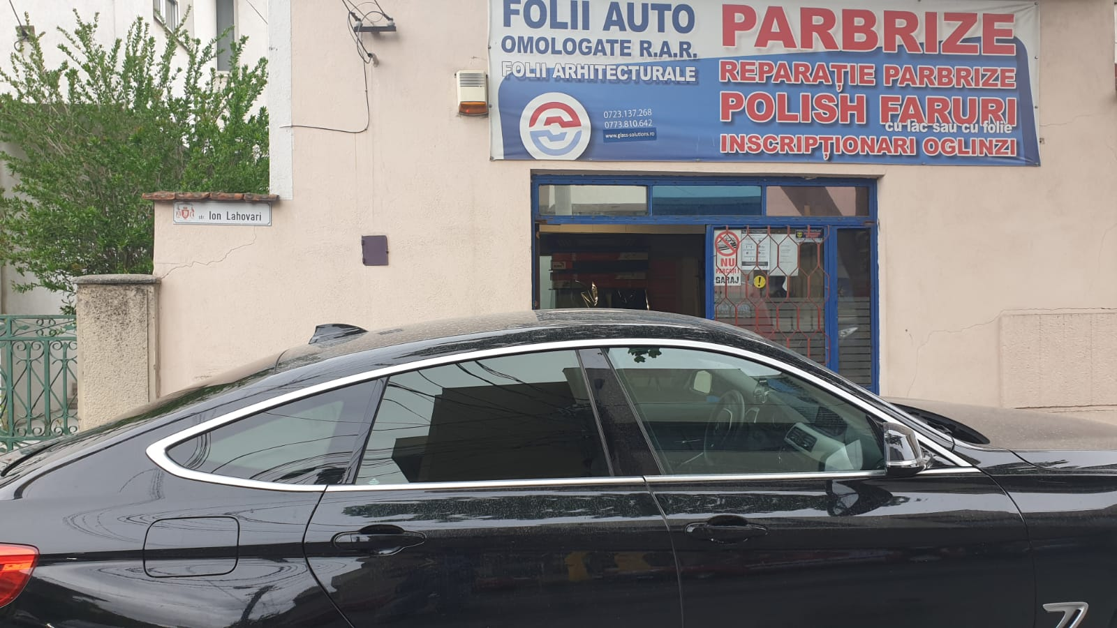 folii auto bmw 5